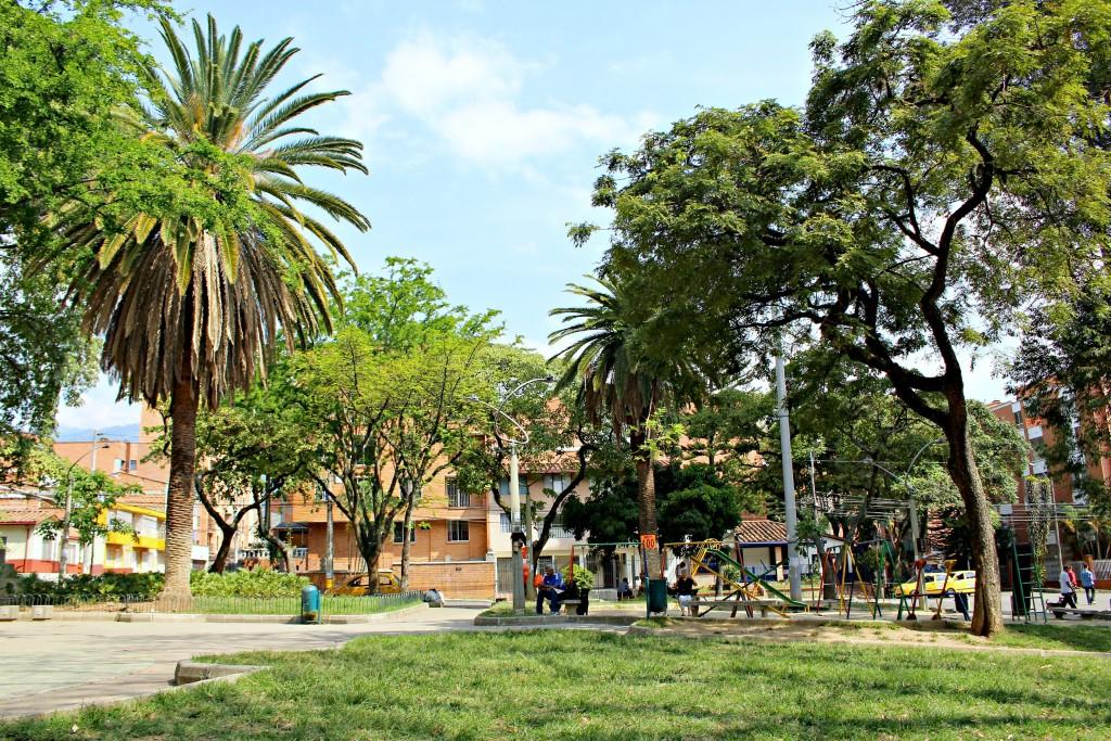 Parque de La Floresta, Medellin, Colombia