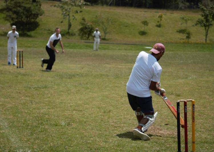 Medellin batting (photo:Medellin Cricket club)