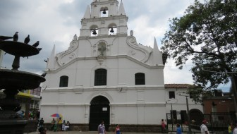 Iglesia de la Veracruz, One of the Oldest Churches in Medellín