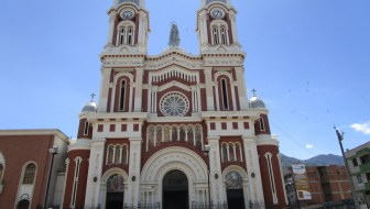 Iglesia Nuestra Señora del Rosario, a Beautiful Church in Bello