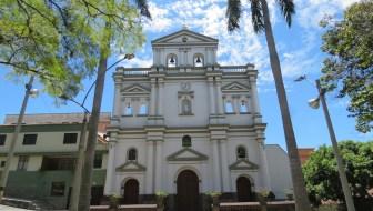 Iglesia de Nuestra Senora de los Dolores in Robledo