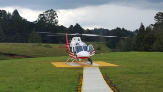 The New Medellín Helicopter Taxi Service by Aviatur
