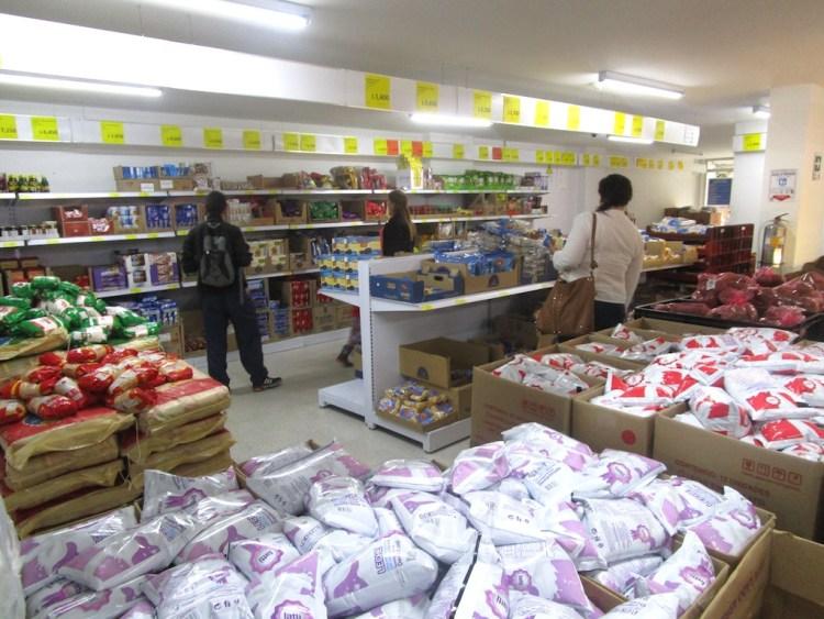 Inside a Tiendas D1 store