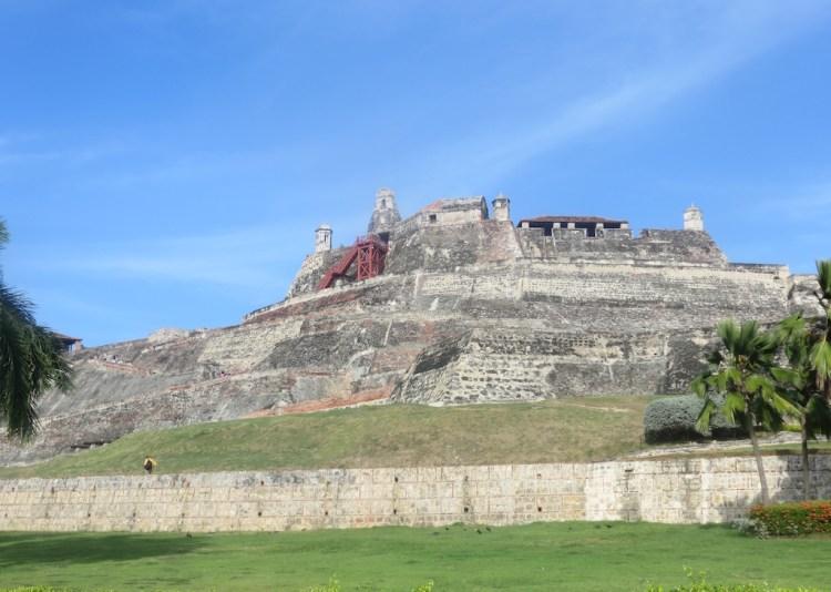 Castillo San Felipe de Barajas in Cartagena