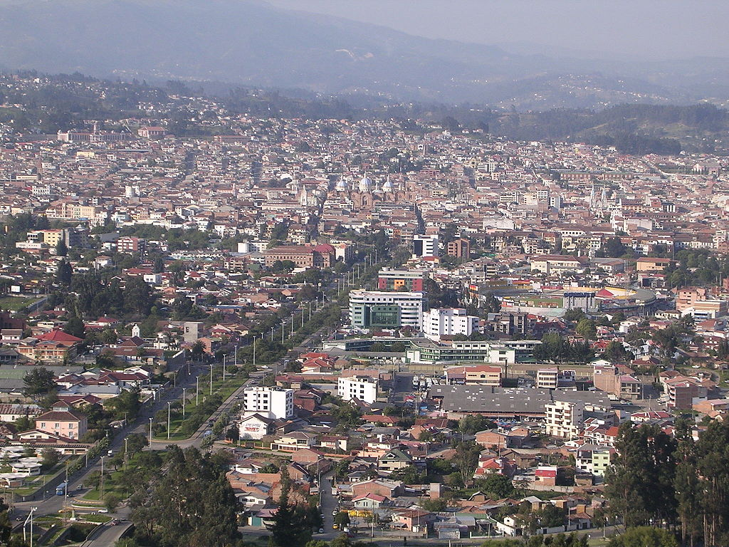 View of Cuenca during the day