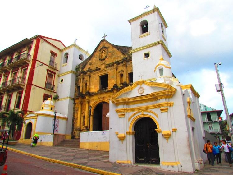 Iglesia de La Merced in Panama City, photo by N. Nazareth Valdespino O