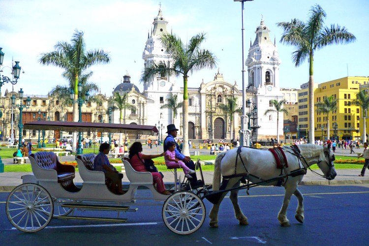 Plaza de Armas in Lima, photo by Art DiNo