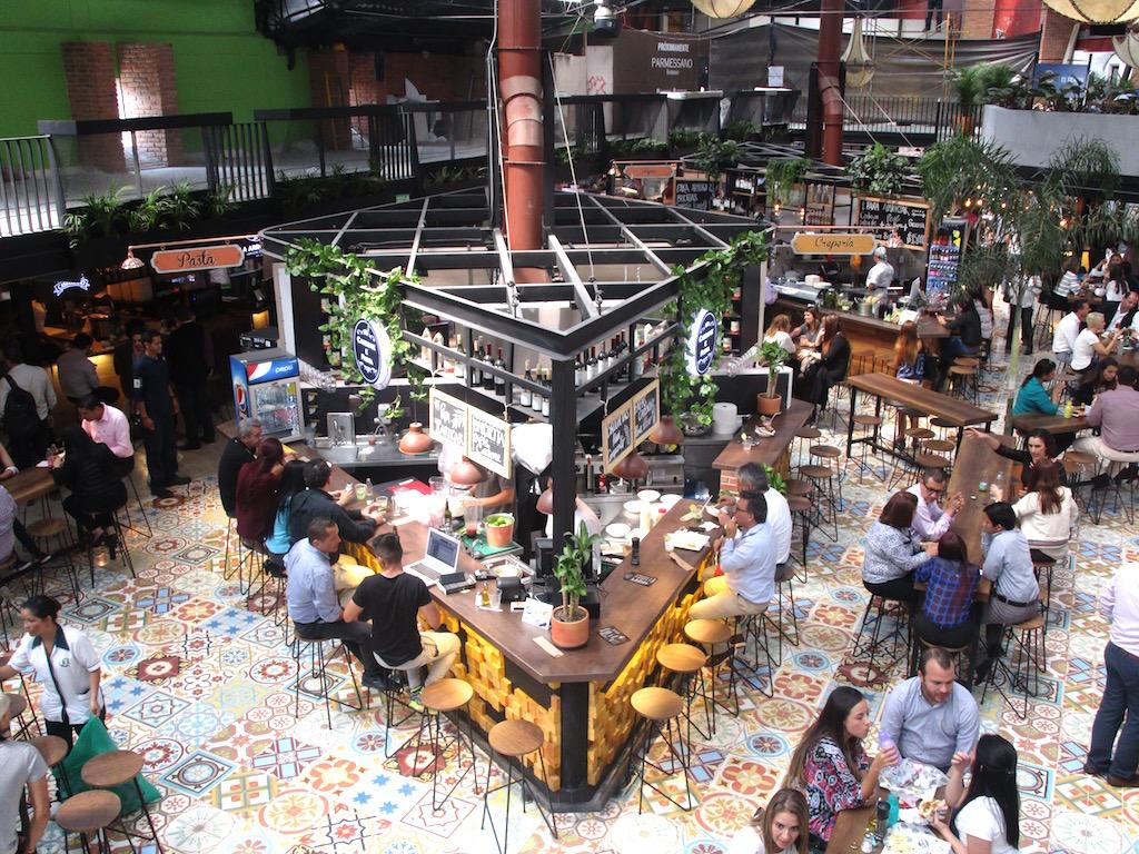 Inside Mercado del Rio