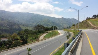 Road Cycling Routes Around Medellín