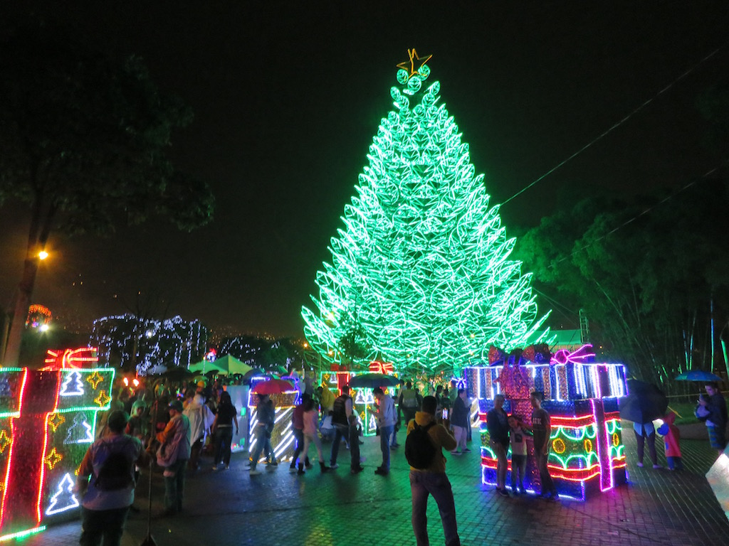 Medellín Christmas Lights 2016