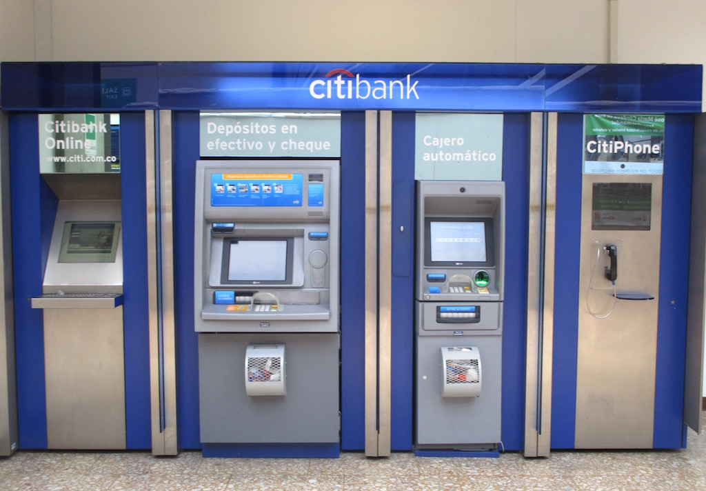 Citibank ATM machine