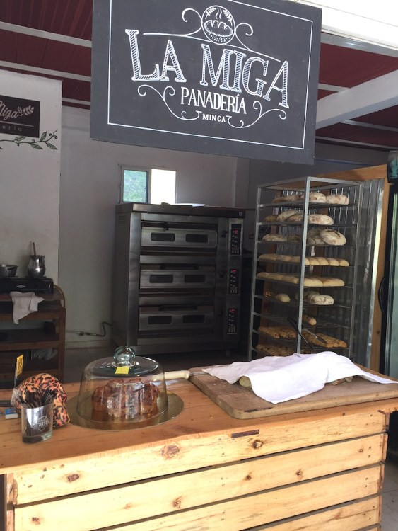 La Miga Bakery in Minca