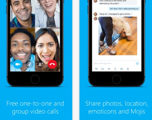 Skype App, courtesy of Skype