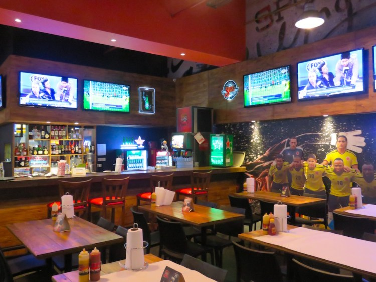 Inside Sport Wings at Mayorca mall