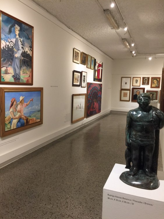 First floor gallery at MUUA