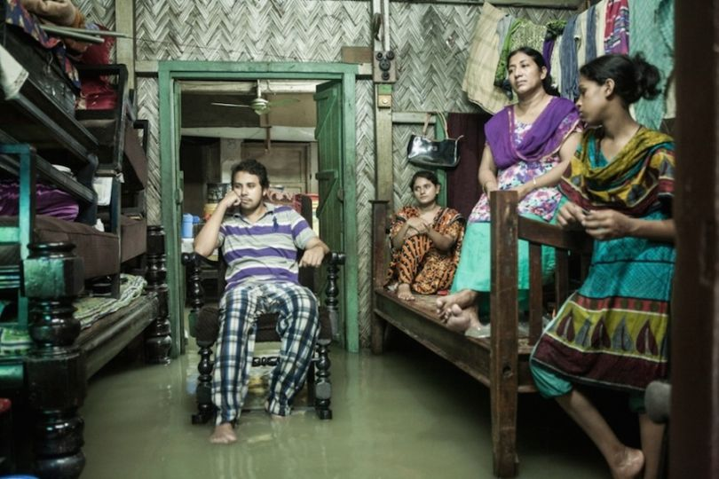 Life in a tidal flood Chittagong, Bangladesh Photograph: Jashim Salam/Courtesy of Atkins CIWEM Environmental Photographer of the Year