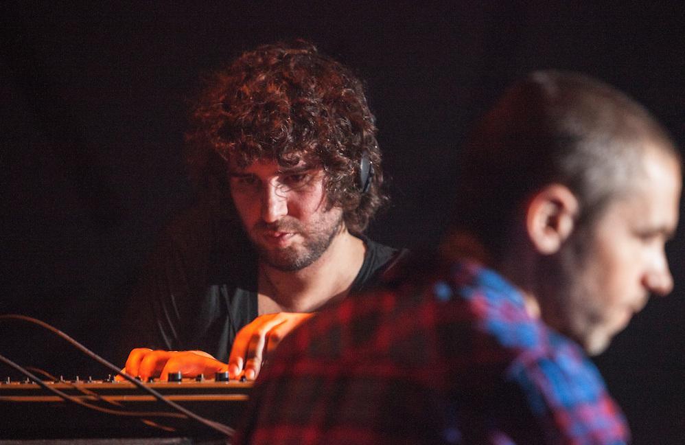Minilogue vs Mathew Jonson, Métropolis, Mutek 2012, Nocturne 4