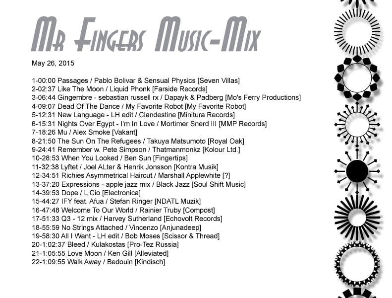 Mr. Fingers Music Mix
