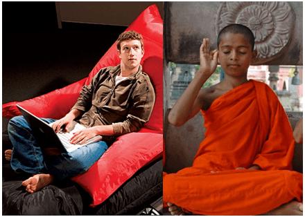 zuckerberg-monk