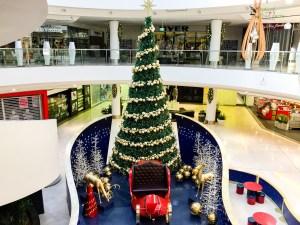 Christmas tree at Westfield Belconnen Gary Lum