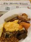 AG New World Manila Bay Hotel Breakfast