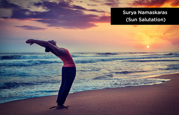 Surya Namaskar (Sun Declaration) - Yoga to increase height