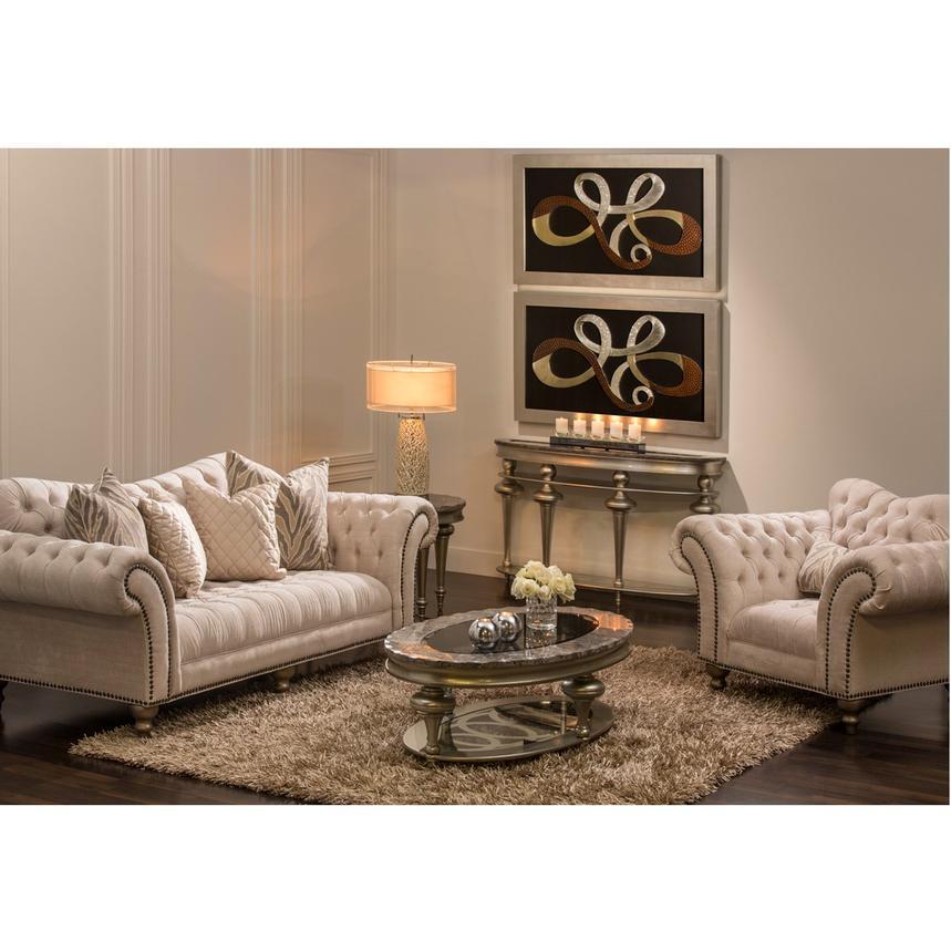 laura cream sofa alternate image 2 of 7 images