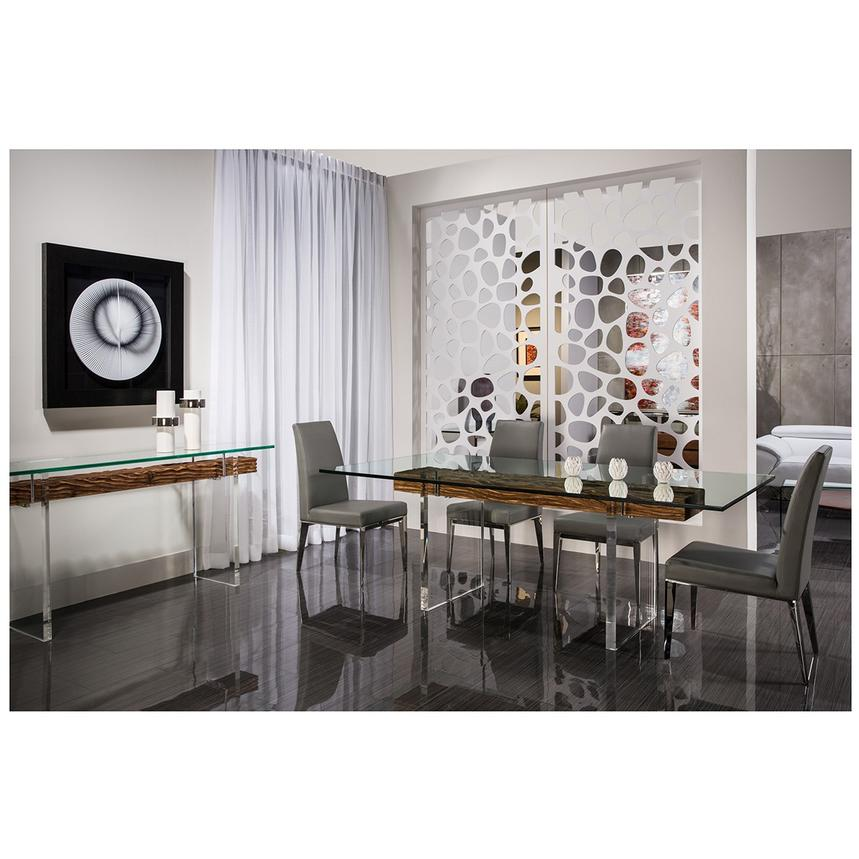 miami beach natural rectangular dining table alternate image 2 of 6 images