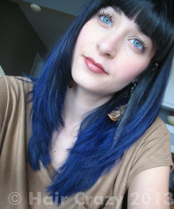 Buy Blue Velvet Special Effects Hair Dye HairCrazy Of Blue