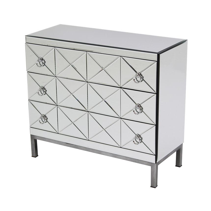 Mildred Mirrored Chest El Dorado Furniture