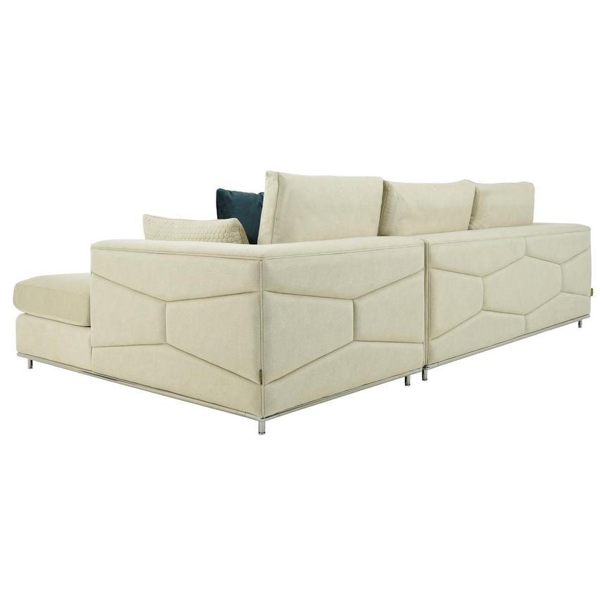 grigio cream sectional sofa w right chaise