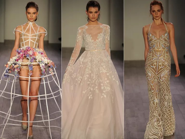 Hayley Paige Fall 2016 Collection: Wedding Dress Photos