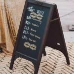 18 Chalkboard Wedding Sign Ideas You Ll Love