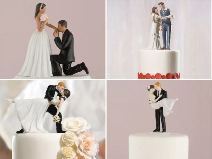 35 Unique   Creative Wedding Cake Toppers While wedding cake toppers may not necessarily be at the top of your wedding  planning checklist  it s a fun detail to think about a little closer to  your