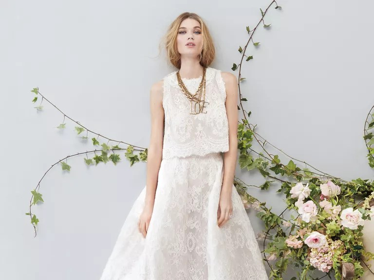 10 Two-Piece Wedding Outfits We Love