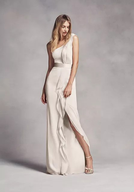 White by Vera Wang Collection White by Vera Wang Style VW360215     White by Vera Wang Collection White by Vera Wang Style VW360215 Bridesmaid  Dress   The Knot