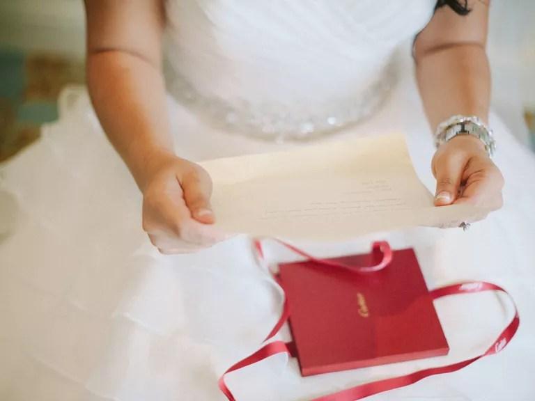 Bride And Groom Wedding Gift Exchange?