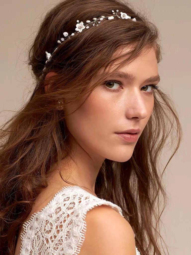 justin taylor beach bridal hair accessories