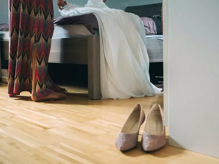 Wedding Dress Preservation Vs. Wedding Dress Cleaning