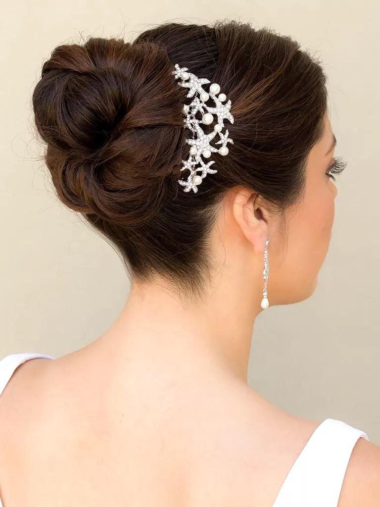 hair comes the bride beach bridal hair accessories
