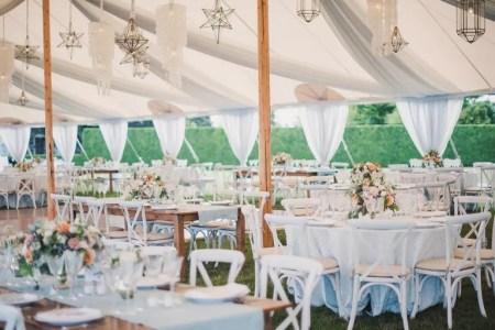 Garden Wedding Reception Setup Ideas