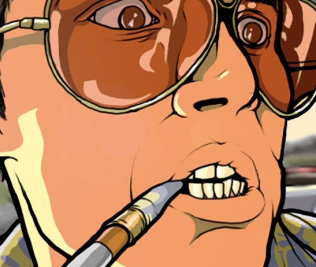 Gonzo Journalist And Author Hunter S Thompson