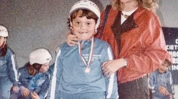 Tiziano Ferro e la foto da bambino: «E poi sono arrivato primo»