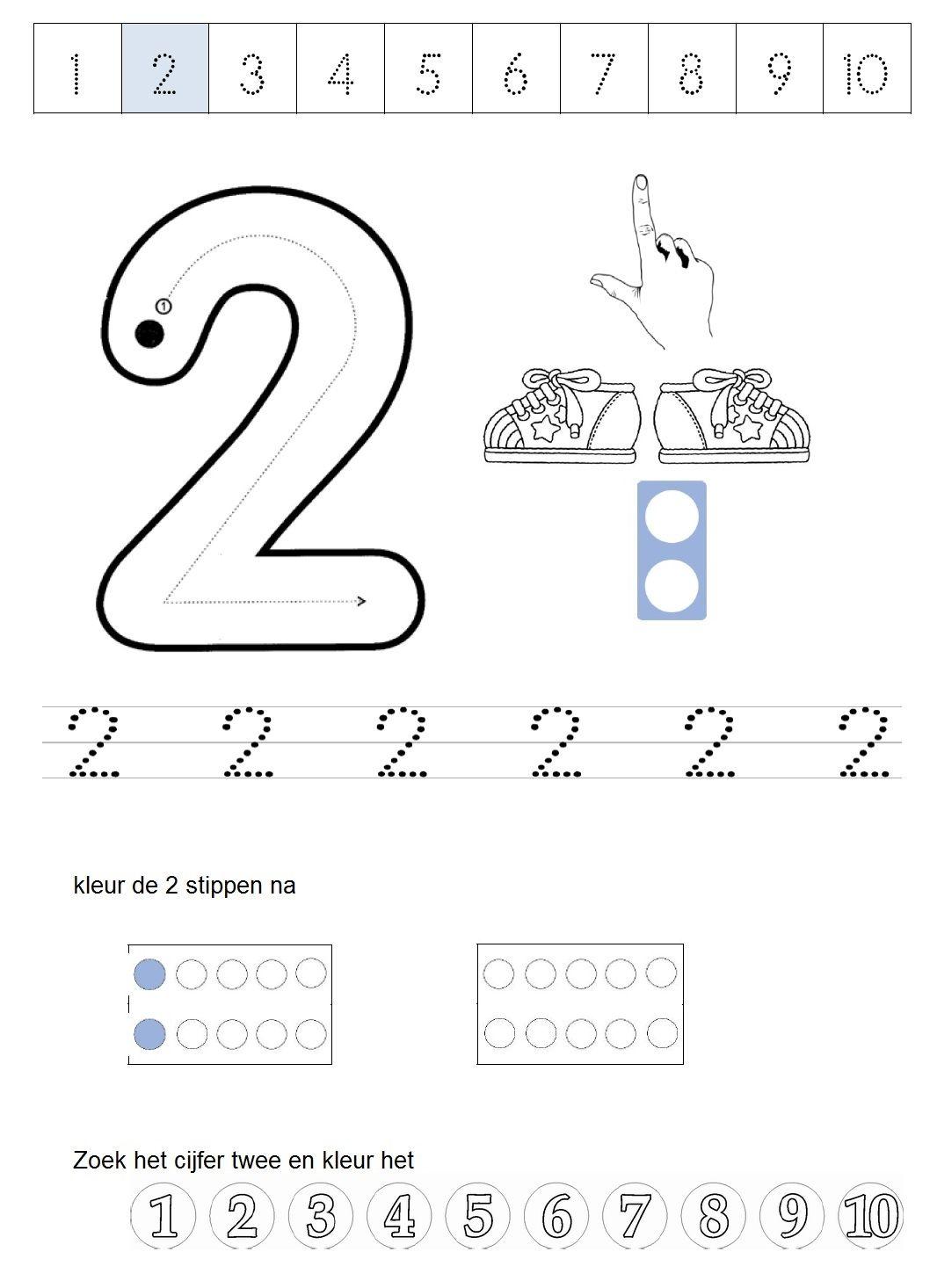Images About Tellen En Cijfers