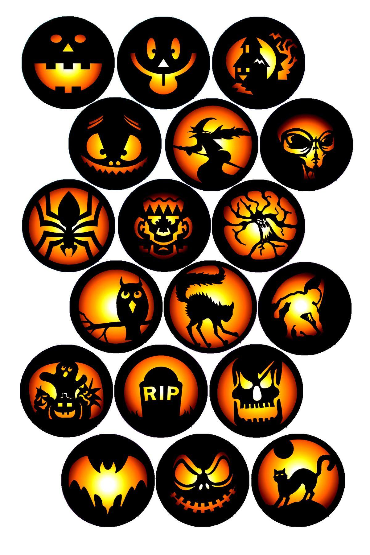 Halloween Stickers Free Printable And Halloween