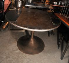 patchwork metal table
