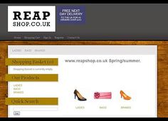 ReapShop Ltd is an online retailer offering a choice of shoes for every occasion