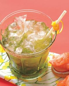 Lemon-and-Mint Julep Recipe
