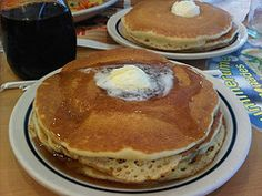 Pancake may be served at any time with a variety of toppings or fillings including cheese, jam, fruit, chocolate chips or spread. You can try this IHOP Buttermilk Pancakes at home by following this simple recipe.