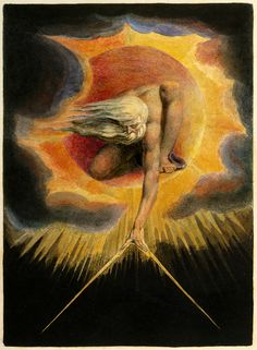 """The Ancient of Days"", William Blake, 1794"